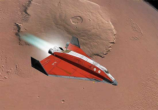 Mars Spaceplane