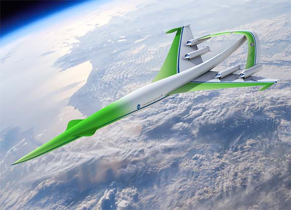 NASA Supersonic Green Machine