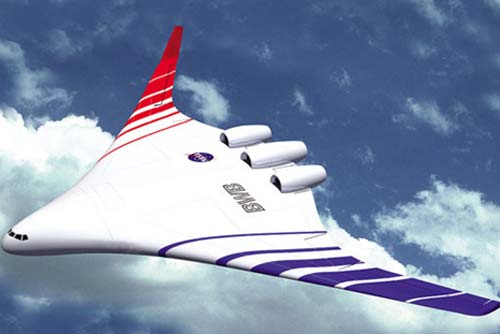 NASA Blended Wing Airplane