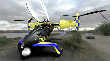 Police Personal Aircraft Concept