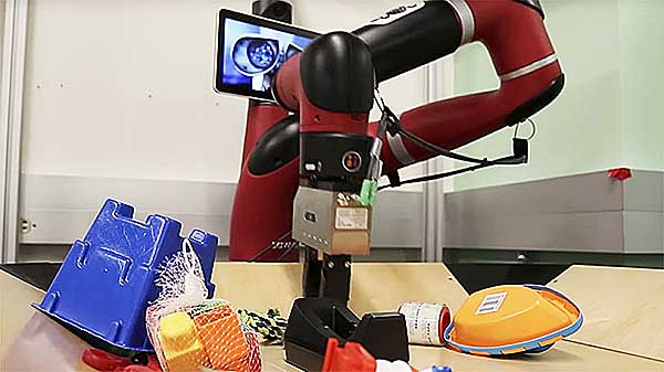 Vestri Robot with imagination